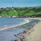 <br />It feels like the first day of summer. Bantham.<br /> Original Oil Painting On Paper,<br /> Image Size - 49 x 49 cm,<br /> Glazed and Framed,<br /> £695<br /> SOLD<br />