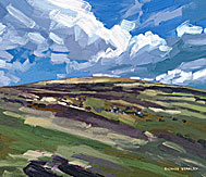 <br /> Looking south from Grimspound, Dartmoor.<br /> Original Oil Painting On Paper,<br /> Image Size - 35.7 x 30.2 cm,<br /> Glazed and Framed,<br /> £475<br />