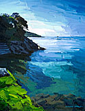 <br /> From North Sands Salcombe to Sunny Cove.<br /> Original Oil Painting On Paper,<br /> Image Size - 37.7 x 28.5 cm,<br /> Glazed and Framed,<br /> £475<br /> SOLD<br />